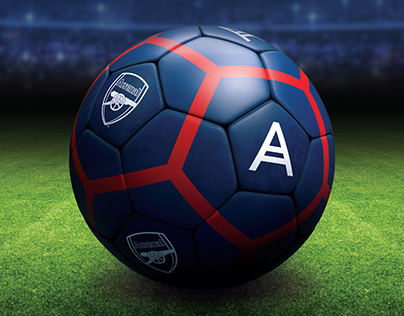 Acronis / Arsenal Co-Branded Ball