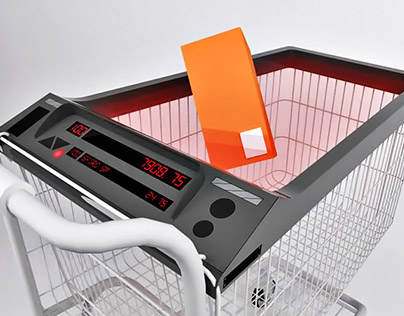 Push Cart RFID Item Scanner