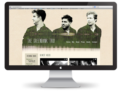 Greenbank Trio website
