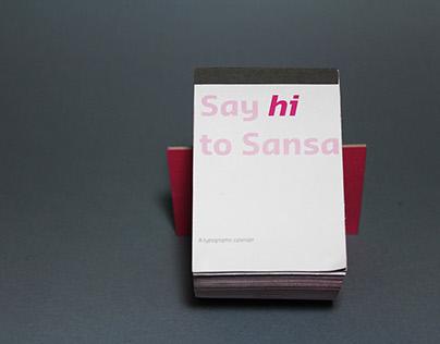 Type Specimen — Sansa Pro