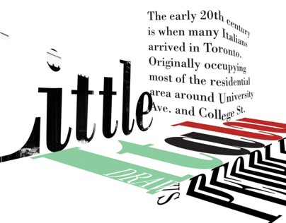 Little Italy Accordian Fold Book