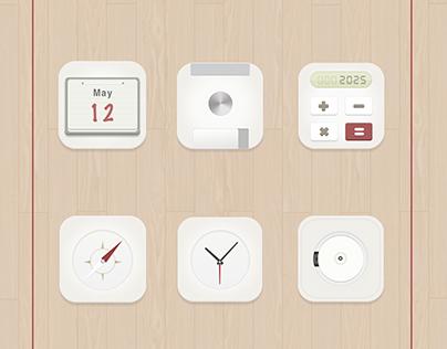 MUJI Theme Icons