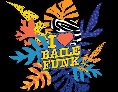 I Love Baile Funk - logo animation