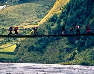 Himalayas: where the gods live / Morada de los diodes