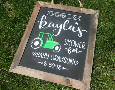 Kayla Baby Shower