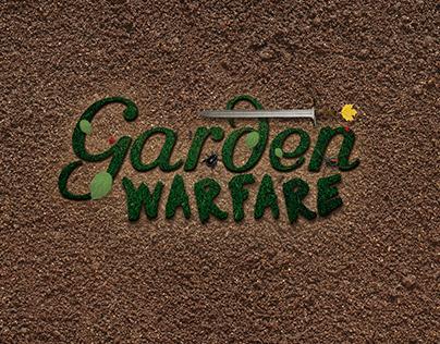 Garden Warfare Logo Game