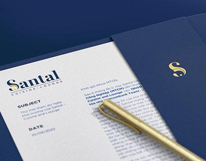 Santal - Cuisine & Lounge Brand Identity