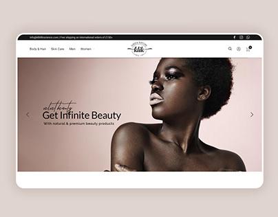 Klik | Beauty Store Website