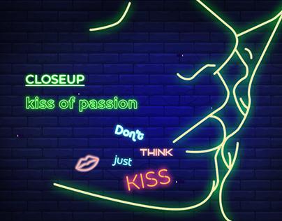 Closeup Kiss Music Video