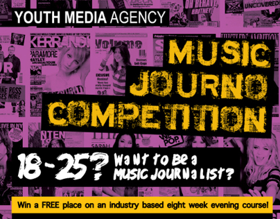 Music Journo Competition e-flyer