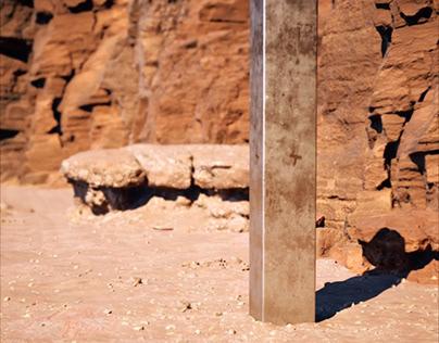 Horror story of Utah monolith _ VrayGPU Animation