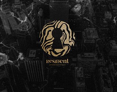 """Real estate agency """"Resident"""" branding"""