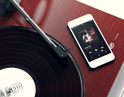 Elegy of me Vinyl cover