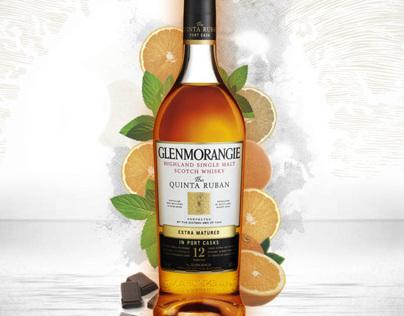 Glenmorangie Flavour  Illustrations