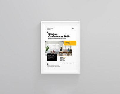 Startup Conference A4 Flyer