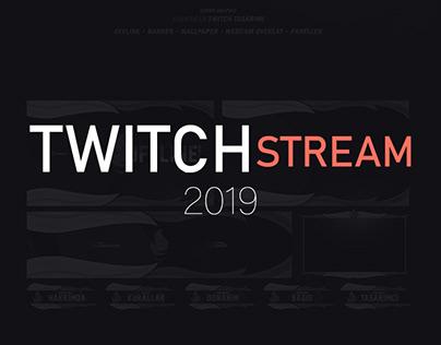 Levien/2019 Twitch Stream Designs