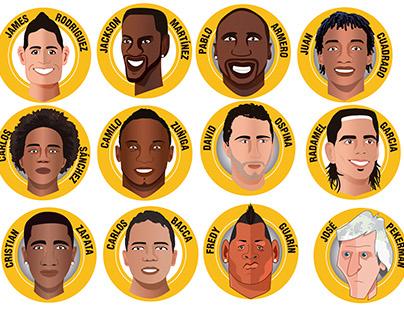 Selección Colombia 2015