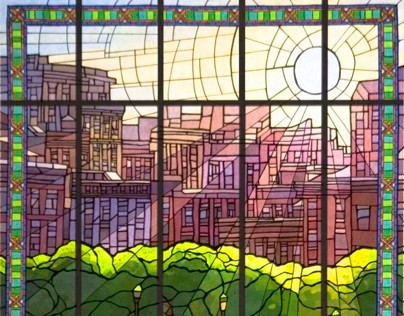 Parkchester Station - A Faceted Glass Project