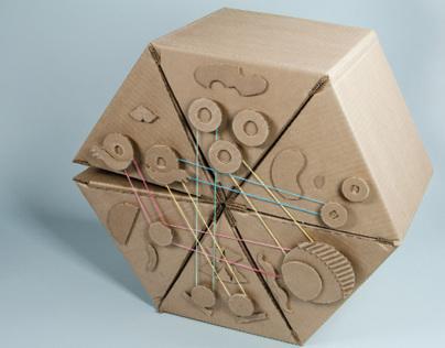 Child's Cardboard Chair