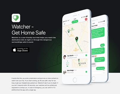 Watcher - Get Home Safe App