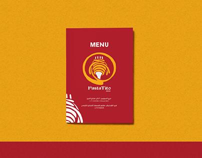 MENU   Pastatito Restaurant