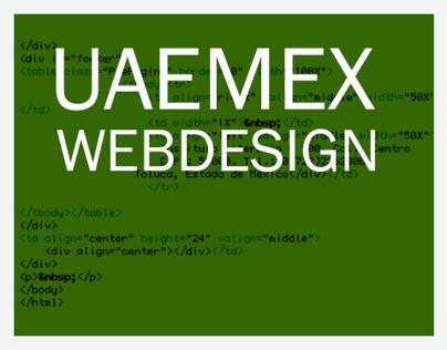 UAEMex webdesign
