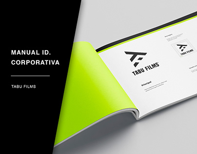 MANUAL DE INDENTIDAD CORPORATIVA: TABU FILMS