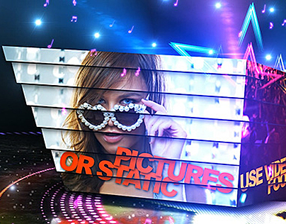 Disco/Party Promo - After Effects Video Template