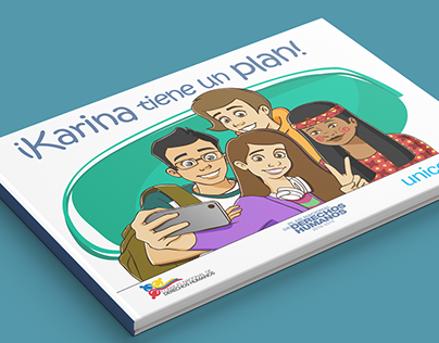 ¡Karina Tiene Un Plan! - Illustrated Story - UNICEF