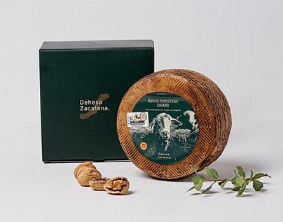 Dehesa Zacatena | branding para quesería