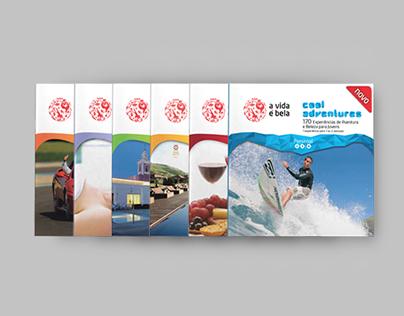 A Vida é Bela Brochures // Editorial Design