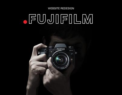 FUJIFILM - website redisign