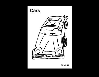 Cars - Illustrative Bookelt
