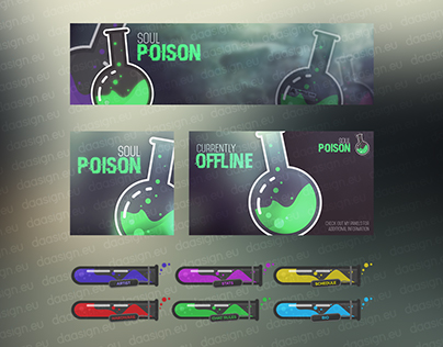 Twitch.tv Channel Design - Soulpoison
