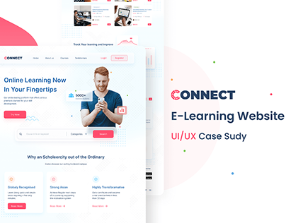 UX case study | Connect - Learning platform