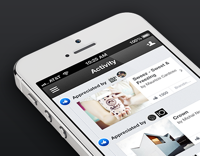 Behance for iPhone 2.0