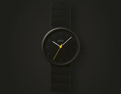 Braun watch webshop
