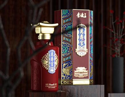 李渡酒业 × 三式设计 |万寿宫酒-打造地域性文化符号