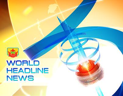 RTB WORLD HEADLINE NEWS Packaging