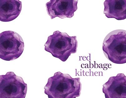 red cabbage kitchen branding