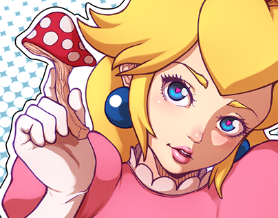 Princess Peach - Super Mario Bros -