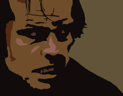 Jack Nicholson Portrait Practice