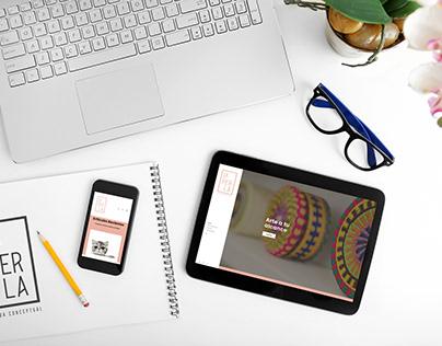 La Perla Tienda Conceptual web design