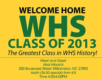 Williamston High School Class of 2013 Design