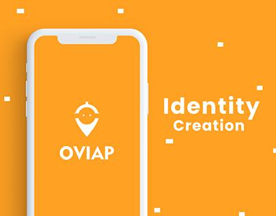 Ovi - Food services app Brand Identity Creation