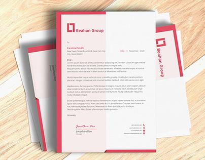 COMPANY / BUSINESS LATERHEAD DESIGN