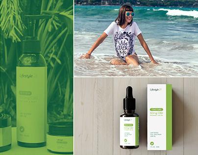 Lifestyle 21 CBD Packaging & Branding