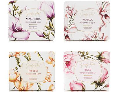 Woolworths Simply Floral Packaging Range