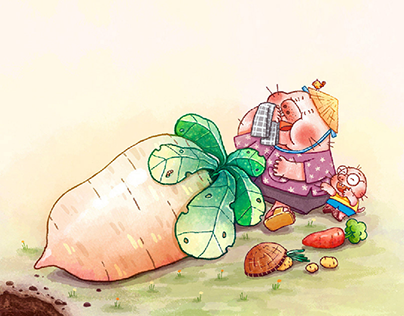 Let's Dig Treasure | Picture book