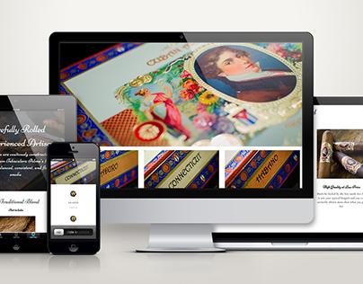 Cuban Aristocrat // Web Design & Development